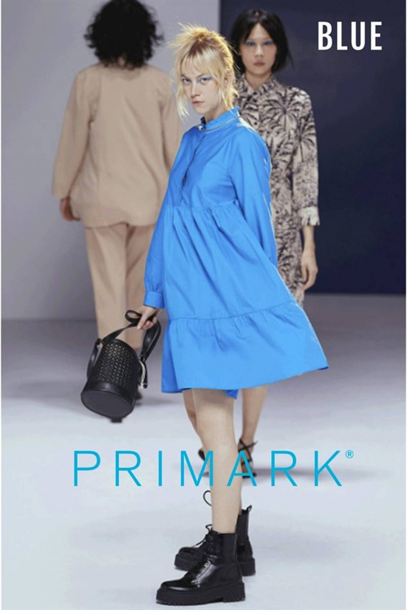 Primark lookbook 25.02.2020 - 20.04.2020 - blue