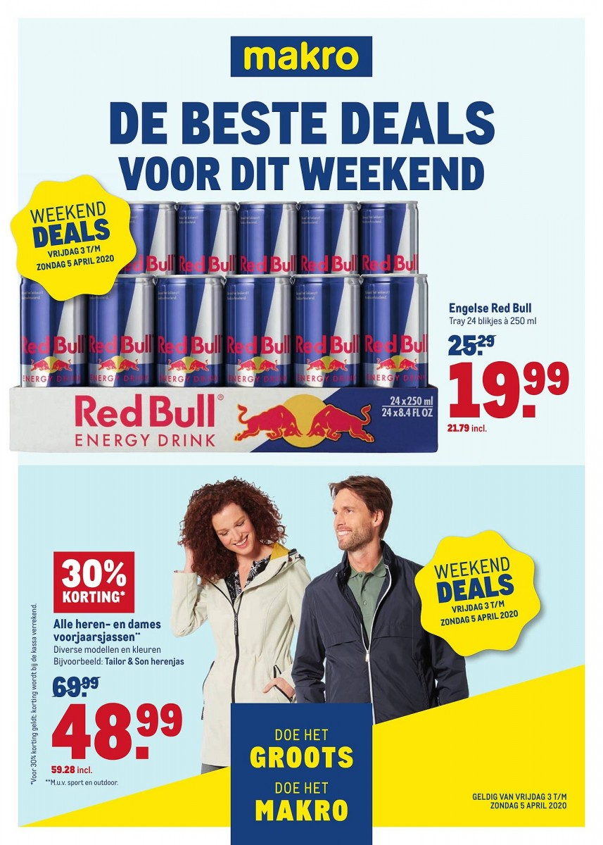 Makro Weekend Deals Folder 03.04.2020 - 05.04.2020