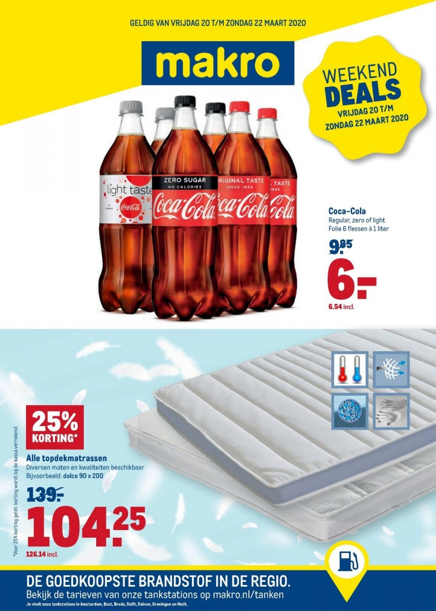 Makro Weekend Deals Folder 20.03.2020 - 22.03.2020