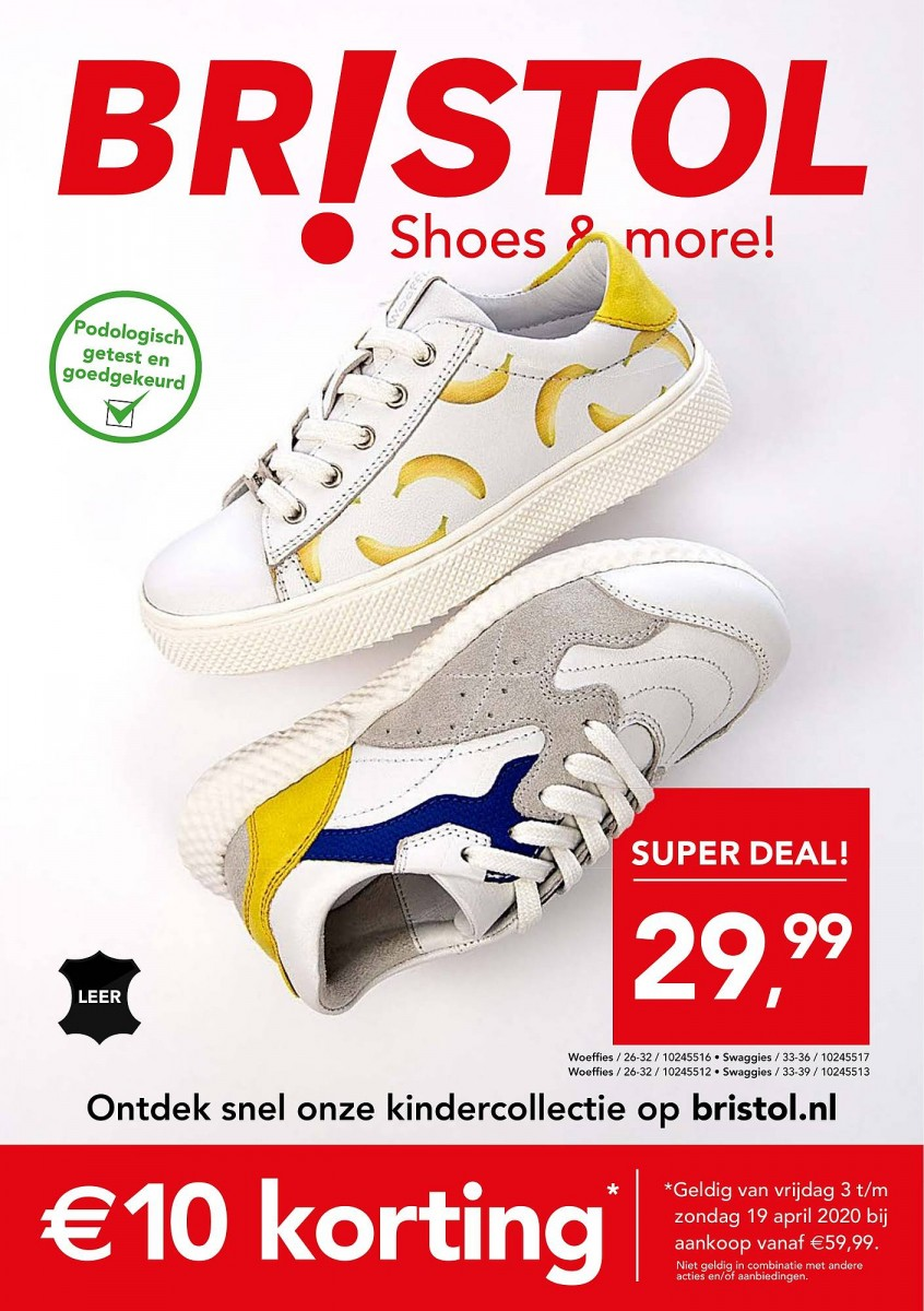 Bristol Folder geldig van 08.04.2020 & 19.04.2020 - shoes and more