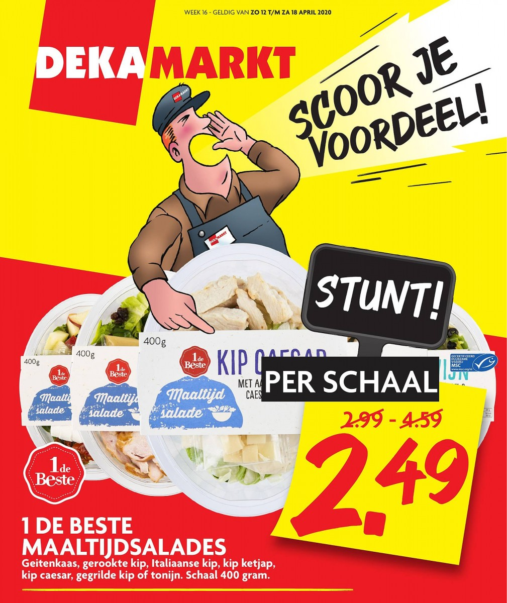 DekaMarkt Folder Week 16 - 12.04.2020 - 18.04.2020