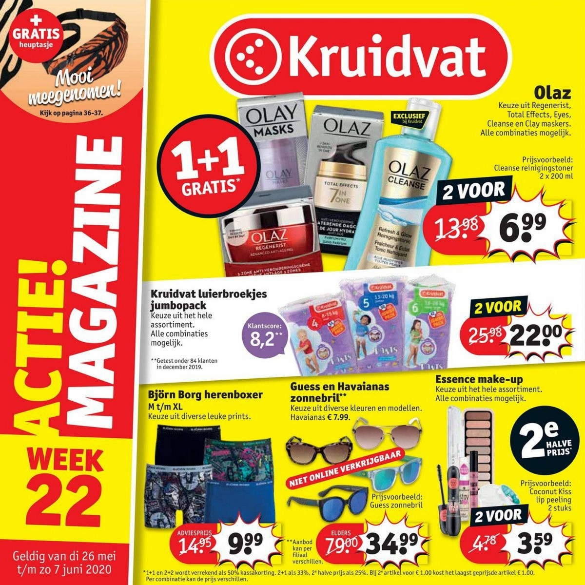 Kruidvat folder 26.05.2020 - 07.06.2020 - week 22