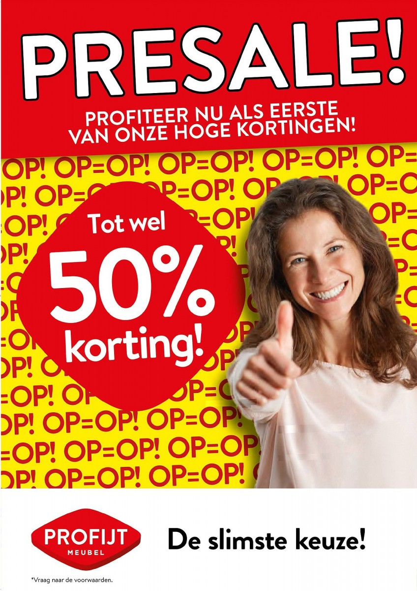 Profijt Meubel Folder 22.05.2020 - 29.05.2020