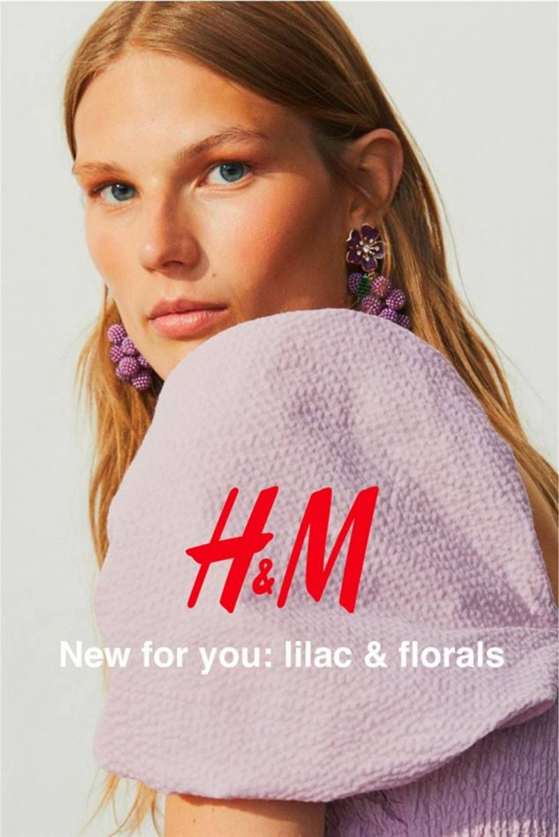 H&M Folder 09.07.2020 - 26.08.2020 - new for you: lilac & florals