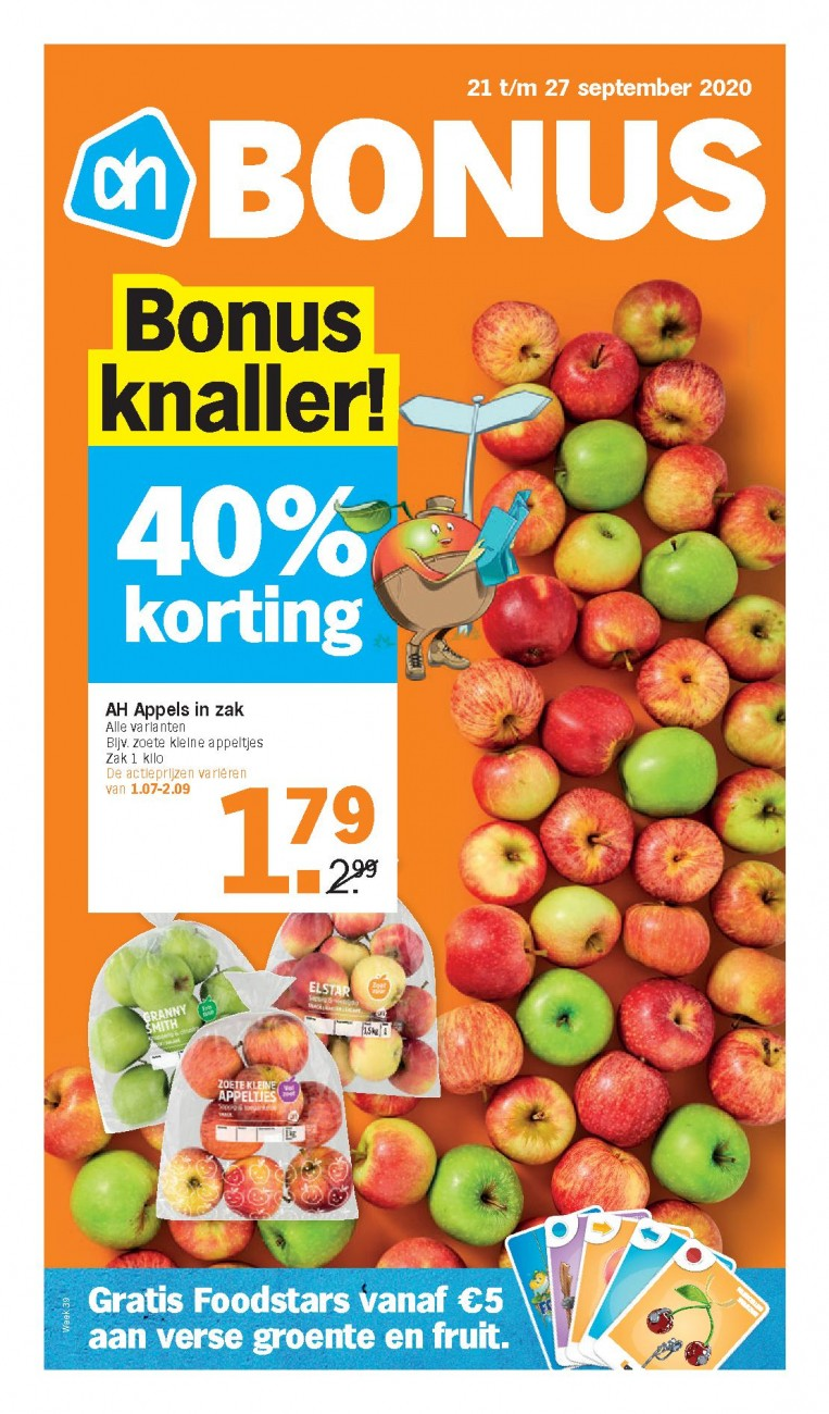 Albert Heijn Folder 21.09 - 27.09.2020 - AH Folder Week 39