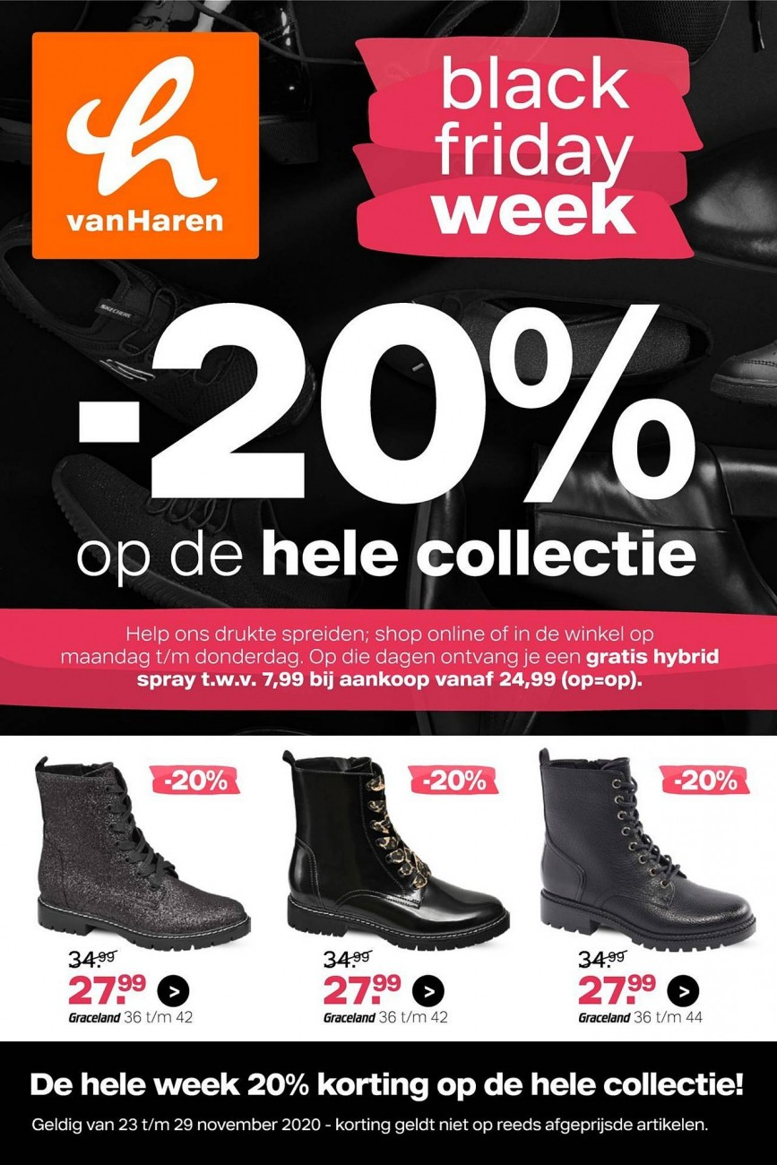 VanHaren Black Friday Folder 23.11.2020 » 29.11.2020